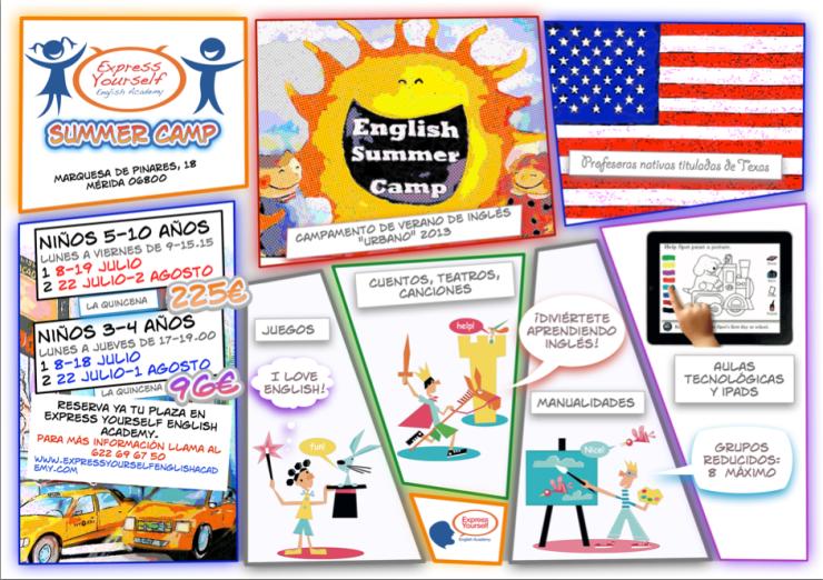 Campamento de verano de inglés 'Urbano' 2013