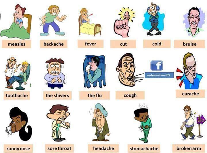 Useful vocabulary_sick